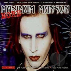 Manson, Marilyn - More Maximum Manson CD Cover Art