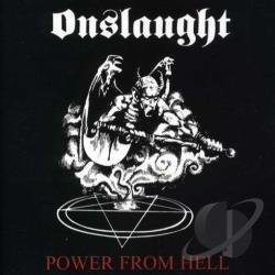 Onslaught - Power from Hell CD Cover Art