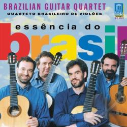 Brazilian Guitar Quartet - Essencia Do Brasil CD Cover Art