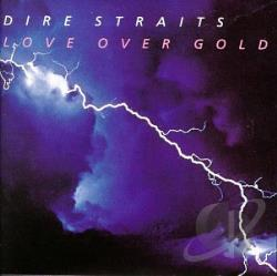 Dire Straits - Love Over Gold CD Cover Art