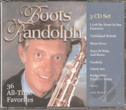 Randolph, Boots - Greatest Hits CD Cover Art