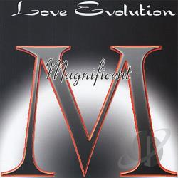 Magnificent - Love Evolution CD Cover Art