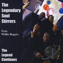 Legendary Soul Stirrers - Legend Continues CD Cover Art