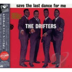 Drifters - Save the Last Dance for Me CD Cover Art