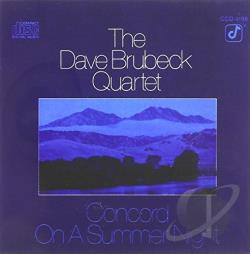 Brubeck, Dave Quartet - Concord on a Summer Night CD Cover Art