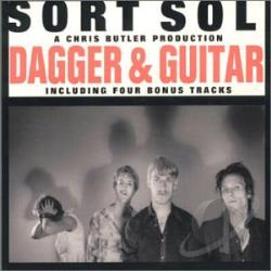Sort Sol - Dagger And Guitar CD Cover Art