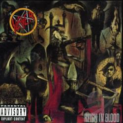 Slayer - Reign in Blood CD Cover Art