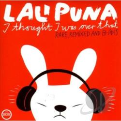 Lali Puna - I Thought I Was Over That: Rare Remixed & B-Sides LP Cover Art