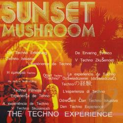 Sunset Mushroom - Techno Experience CD Cover Art