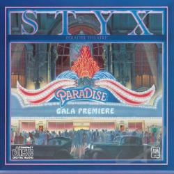 Styx - Paradise Theater CD Cover Art
