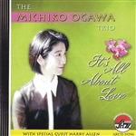 Michiko, Ogawa - It's All About Love CD Cover Art
