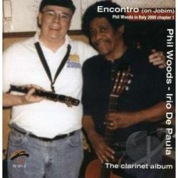 Woods, Phil - Encontro (On Jobim) CD Cover Art