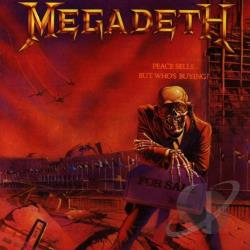 Megadeth - Peace Sells... But Who's Buying CD Cover Art