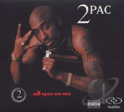 Tupac - All Eyez on Me CD Cover Art