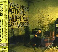 Plan B - Who Needs Action When You Got Words CD Cover Art