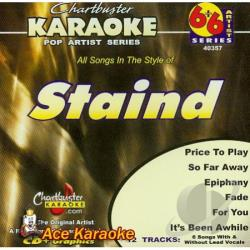 Staind - Karaoke: Staind CD Cover Art