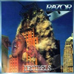 Razor - Decibels CD Cover Art