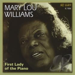 Williams, Mary Lou - First Lady of the Piano CD Cover Art
