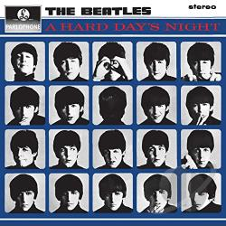 Beatles - Hard Day's Night LP Cover Art