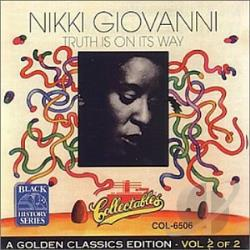 Nikki Giovanni & the New York Community Choir - Truth Is on Its Way CD Cover Art