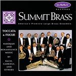 Summit Brass - Toccata & Fugue CD Cover Art
