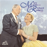 Martin, Mary - Mary Martin Sings, Richard Rodgers Plays CD Cover Art