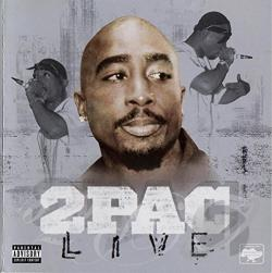 Tupac - 2Pac Live CD Cover Art