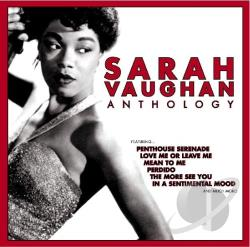 Vaughan, Sarah - Anthology CD Cover Art