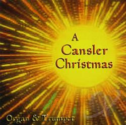 Cansler, Jeannine & Philip - Cansler Christmas CD Cover Art