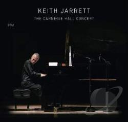 Jarrett, Keith - Carnegie Hall Concert CD Cover Art
