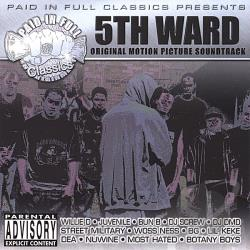 5th Ward Original Motion Picture Soundtrack CD Cover Art
