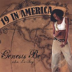 Genesis Be - 19 In America CD Cover Art