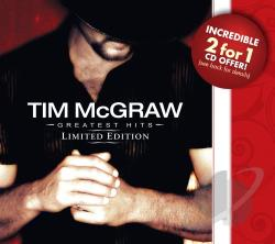 Mcgraw, Tim - Greatest Hits: Limited Edition CD Cover Art