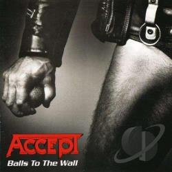 Accept - Balls To The Wall LP Cover Art