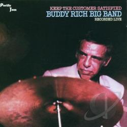 Rich, Buddy - Keep the Customer Satisfied CD Cover Art