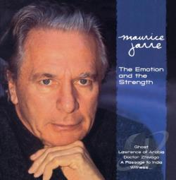 Jarre, Maurice - Emotion & The Strength CD Cover Art
