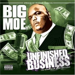 Moe, Big - Unfinished Business CD Cover Art