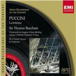 Beecham, Thomas, Sir - Puccini : La Boh�me DB Cover Art