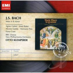 Bach / Klemperer, Otto - Bach: Mass in B minor CD Cover Art