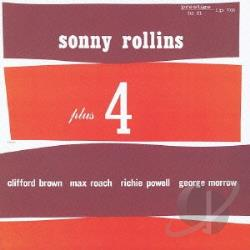 Rollins, Sonny - Sonny Rollins Plus 4 CD Cover Art