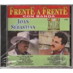 Aguilar / Sebastian - Frente A Frente CD Cover Art