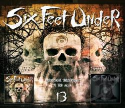Six Feet Under - 13/Graveyard Classics, Vol. 2 CD Cover Art
