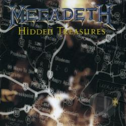 Megadeth - Hidden Treasures CD Cover Art