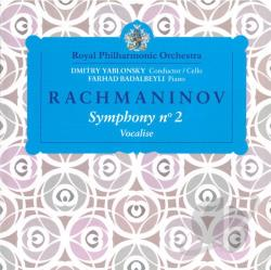 Badalbeyli / Rachmaninov / Royal Philharmonic Orch - Rachmaninov: Symphony No. 2; Vocalise CD Cover Art
