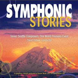 Symphonic Stories Orchestra & David Sabee - Symphonic Stories CD Cover Art