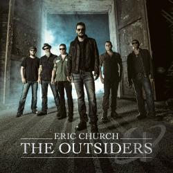 Church, Eric - Outsiders CD Cover Art