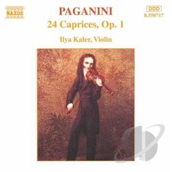Kaler / Paganini - Paganini: 24 Caprices, Op. 1 CD Cover Art