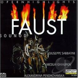 Gounod, C. - Gounod: Faust Highlights CD Cover Art