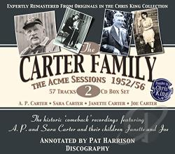 Carter Family - Acme Sessions, 1952-56 CD Cover Art