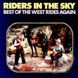 Riders In The Sky - Best of the West Rides Again CD Cover Art